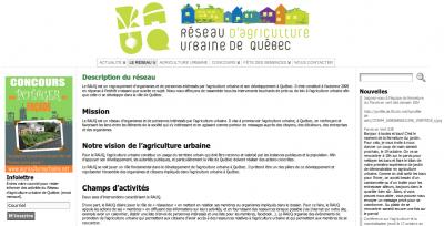 Réseau d'agriculture urbaine de Québec (RAUQ)