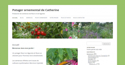 Potager ornemental de Catherine