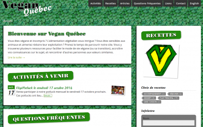 Vegan Quebec