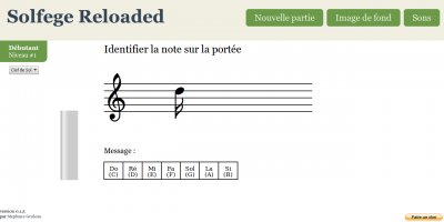 Solfege Reloaded